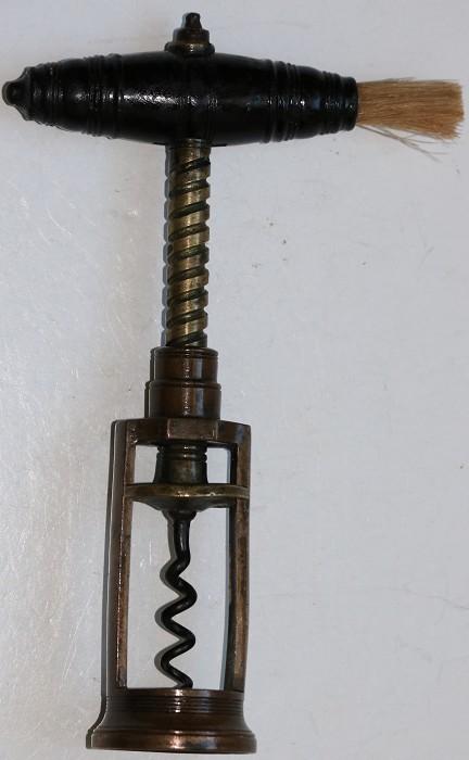 19th Century English Open Frame Corkscrew