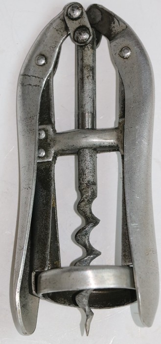 An Italian Vogliotti Double Lever Corkscrew - Fully Marked
