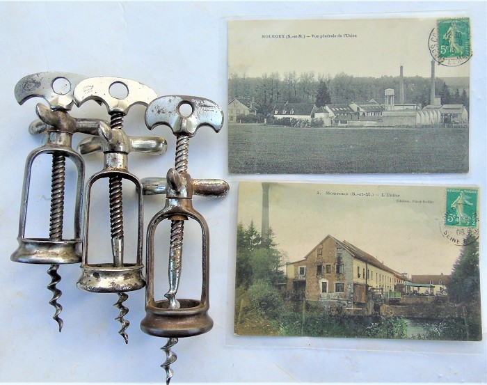 CORKSCREW COLLECTION OF 7 PERILLE (1865-1937) TIRE-BOUCHON
