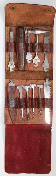 Two Tool Kits with Corkscrew & Vallandingham Extractor