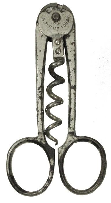 rare Till & Kühl scissors with no. , marked GMS No 10985