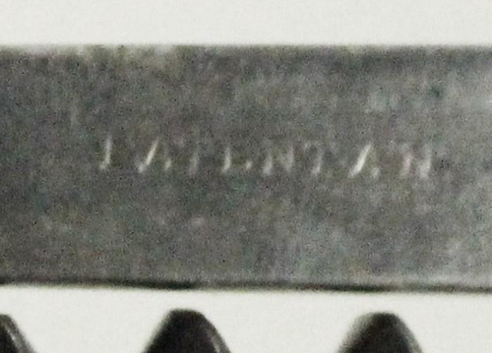 Reutershan's German 1882 patent marked PATENT