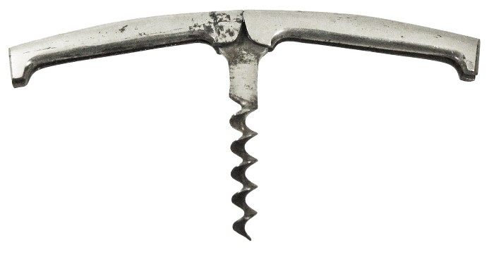 Folding German corkscrews, made by Carl Bewer