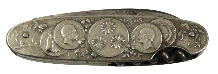 German knife with advertising ca 1890