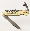 French knife/waitersfriend advertising BERGER