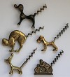 Collection - Five figural Corkscrews - Group 2