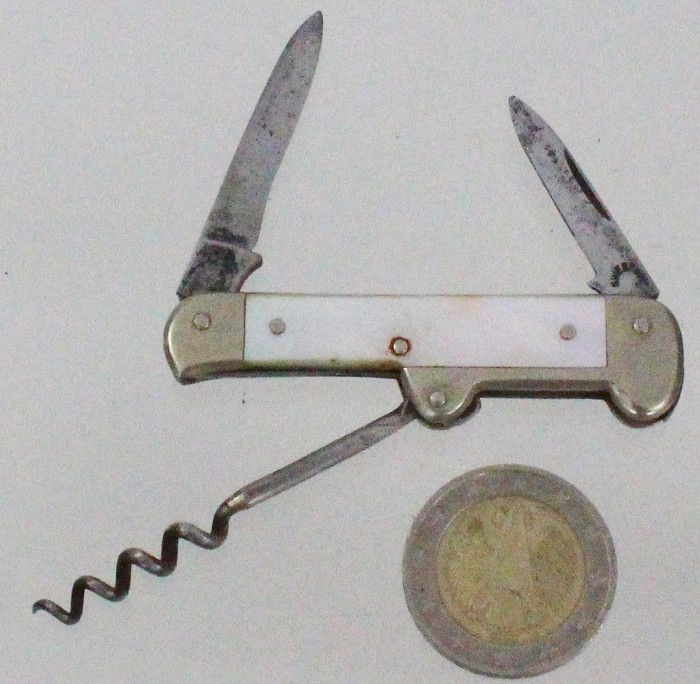 Small J hook (only 6 cm) marked KNIF & LAGET SWEDEN