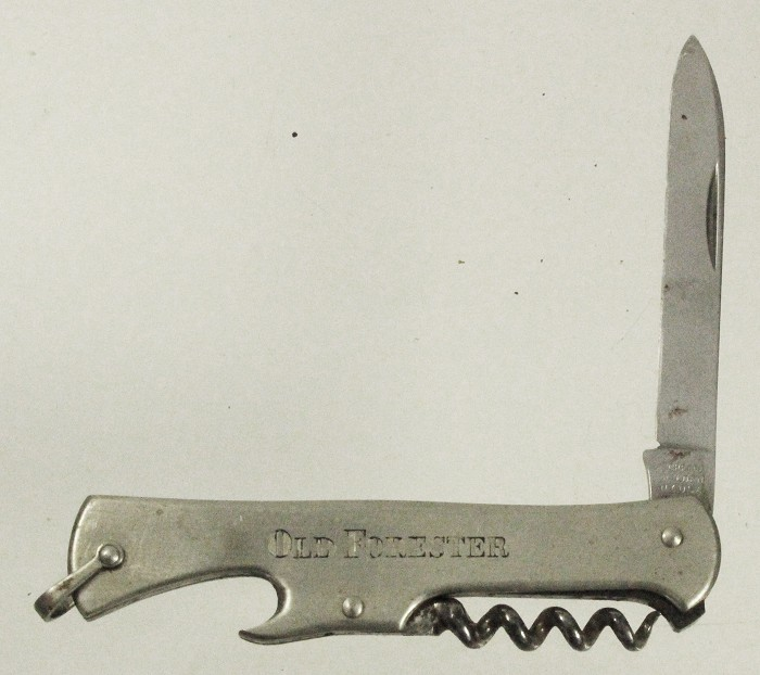 US knife 1920'with cap lifter marked SCHRADE WALDEN and adve