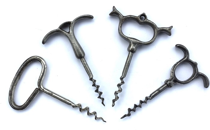 FRENCH CORKSCREW 4 PERILLE JP STAMPED JACQUES PERILLE
