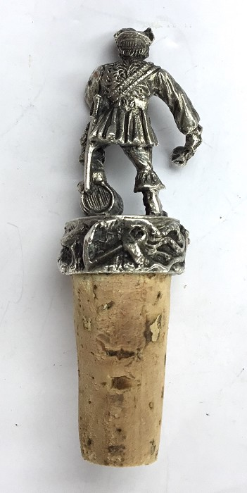UNUSUAL FRENCH CORK PIRATE IN THE SAFE