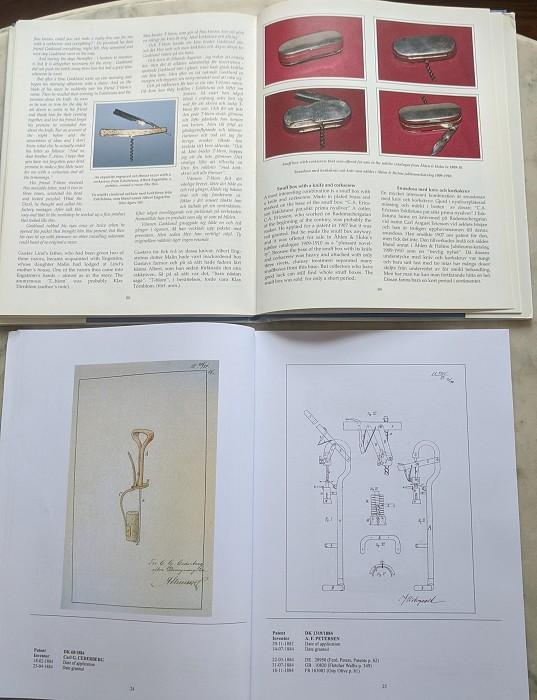 Scandinavian Corkscrews & Scandinavian  Patents 1867-1973