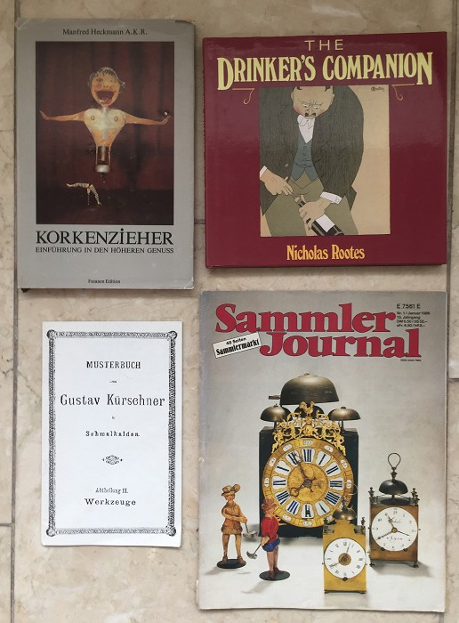 Book Heckmann, Drinking Companion, Catalog, Sammler Journal