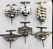 FRENCH CORKSCREW LOT 6 CONCERTINA EXTENSIBLE RAPID PERFECT