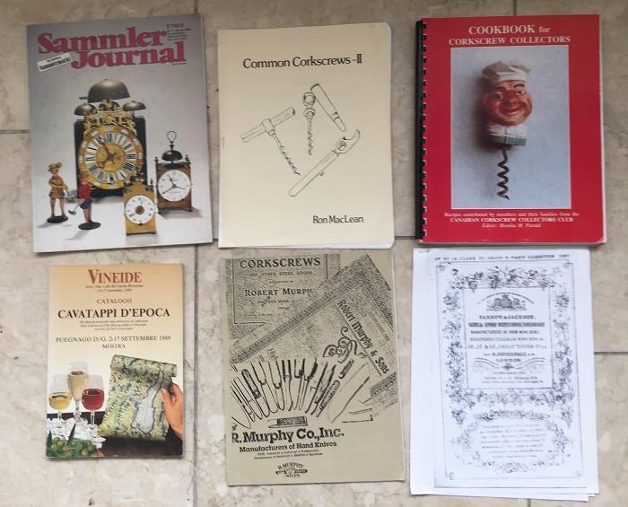 Book Heckmann, cookbook Monika Paradi and 4 catalogs