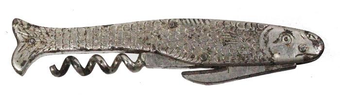 mermaid-shaped waiter's friend, registration N. Ermertz