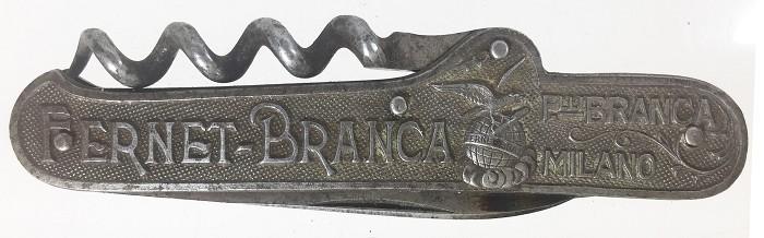 Knife advertising Fernet Branca, PAUL A. HENCKELS SOLINGEN.