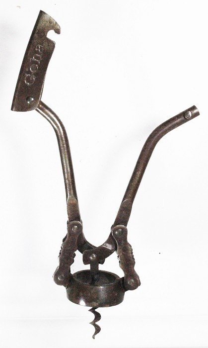 Double lever marked GEHA, Hausmanns German 1903 registration