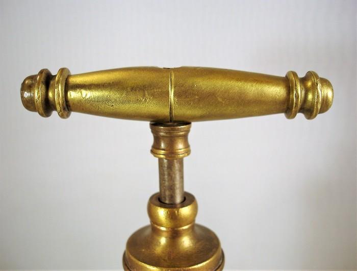 Large sliding corkscrew, Italy, late 1800s