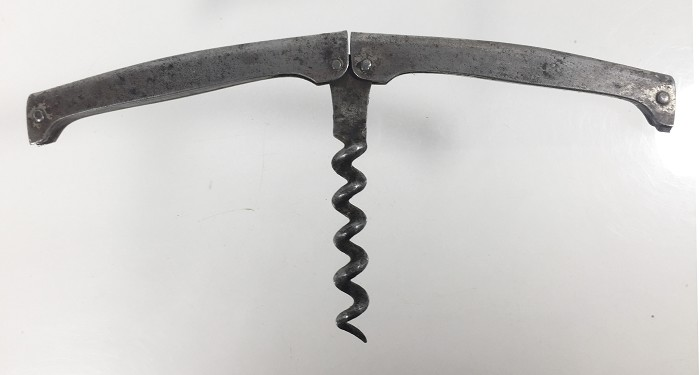 German folding corkscrews made by Bewer, unmarked