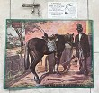 Noyes 1906 patent corkscrew +enamel billboard GREEN RIVER