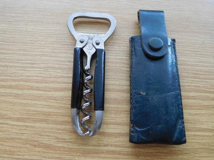 Corkscrew and beer opener B.G.