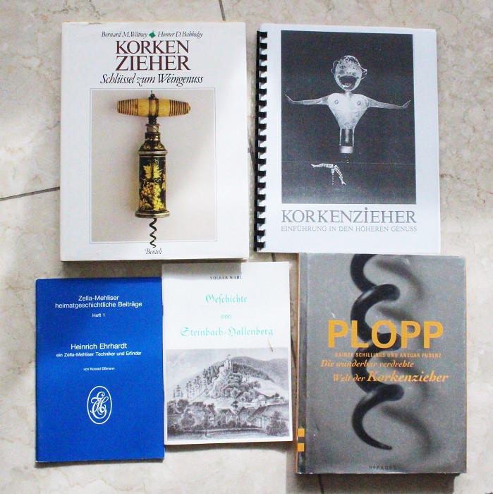 5 German books Watney, Heckmann, Ehrhardt story