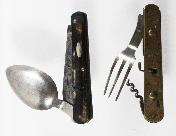 Very rare French travelling set marked BREVETÉ  S.G.D.G.