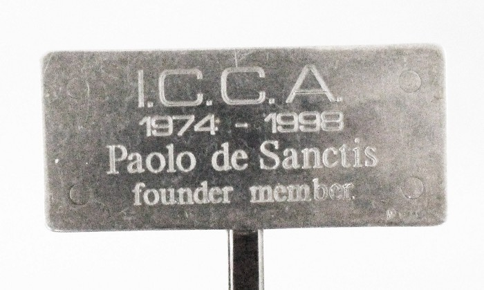 Limited edition, over 100 gr silver, 25 YEARS ICCA