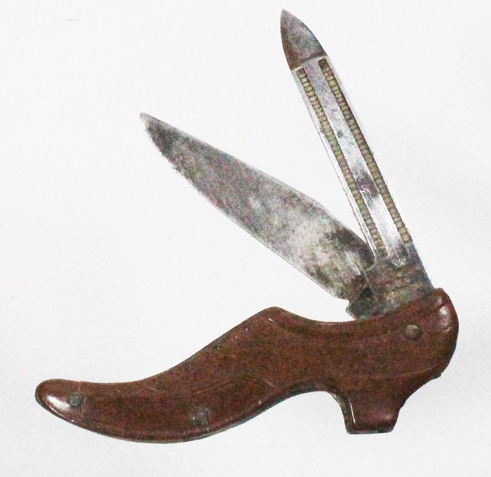 German shoe-shaped knife AW WADSWORTH GERMANY