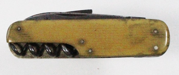 German knife with extendable corkscrew (J hook, AUG MÜLLER