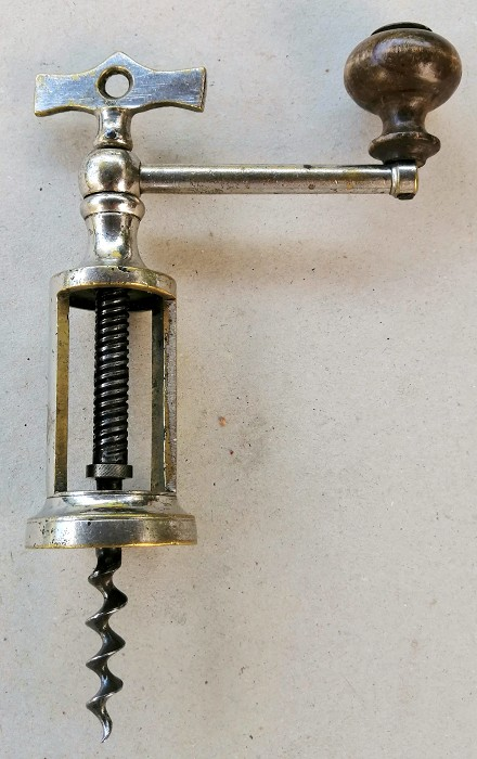 Balsanti collection: Italian coffee-grinder corkscrew A
