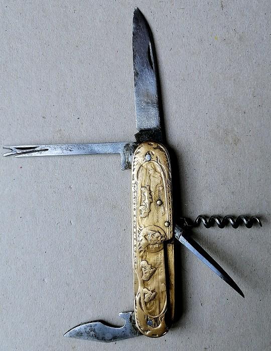 Balsanti collection: St. CHRISTOPHE KNIFE