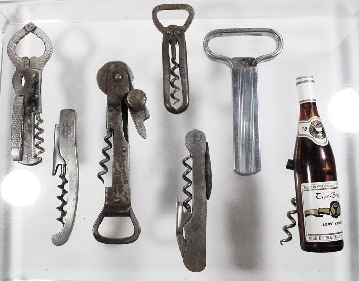 7 German corkscrews, Wielputz , Wienke with patent number