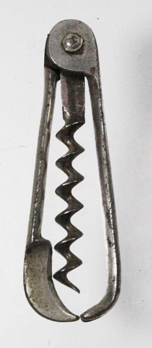 German folding corkscrew with wire cutter