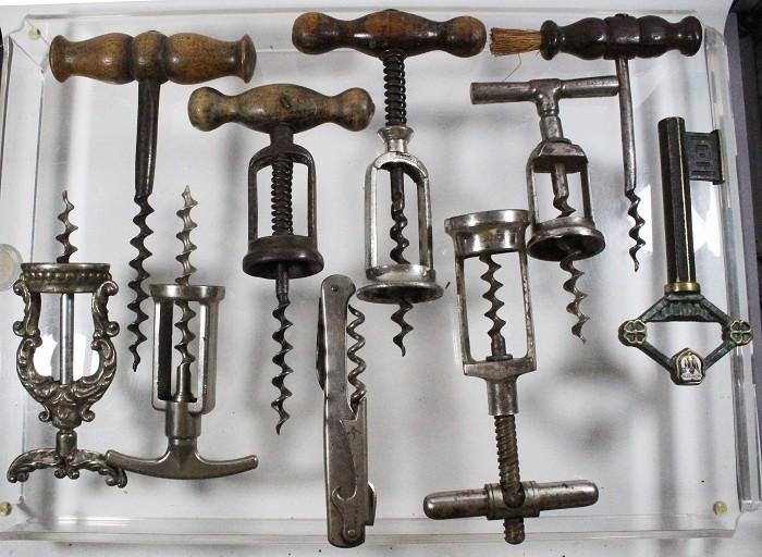 10 German corkscrews, incl Monopol, French fancy