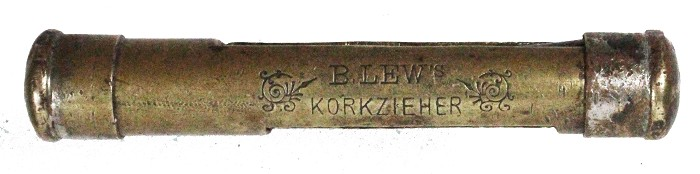 B. LEW'S KORKENZIEHER, but not able to open it