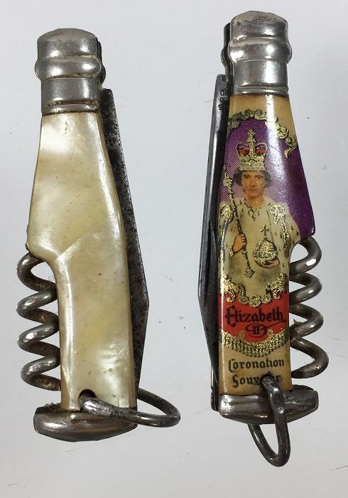 2 miniature knives marked RICHARDS SHEFFIELD ENGLAND