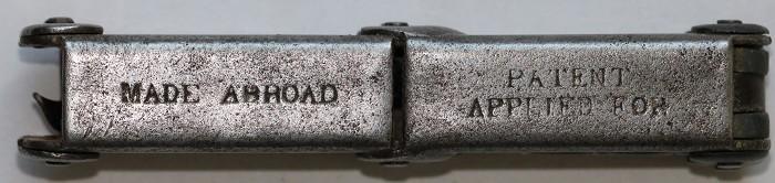 Large German Holweg Pocket Corkscrew.