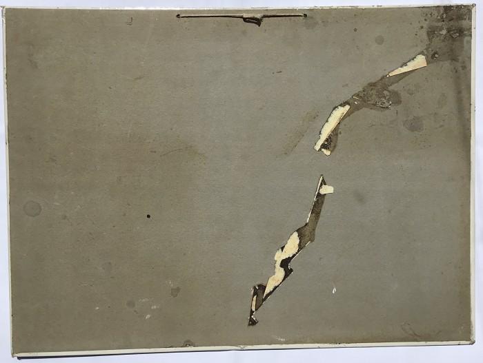 FRENCH CARDBOARD 1933 UN BOURGOGNE EXQUIS RÉSERVE CLOÎTRES