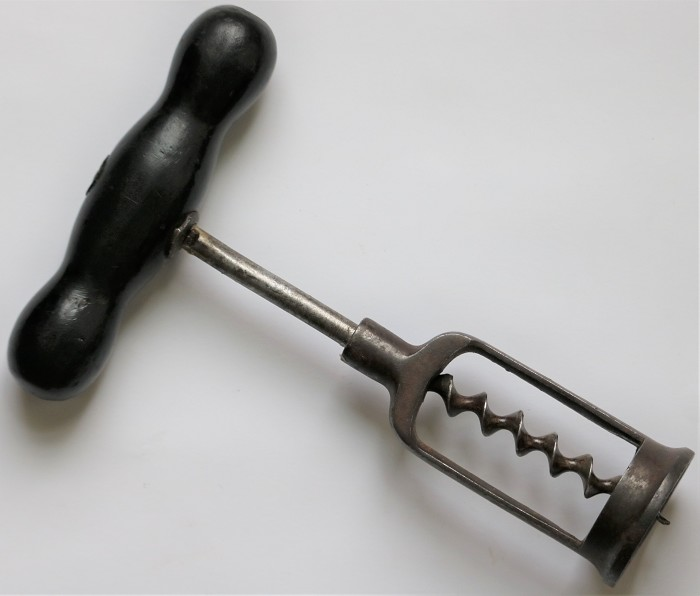 English Open Frame Corkscrew with Long Frame.