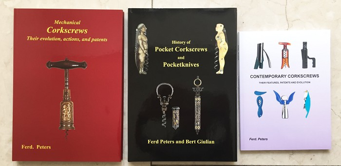 3 books by Ferd Peters, Mechanical, Pocket and Contemporary