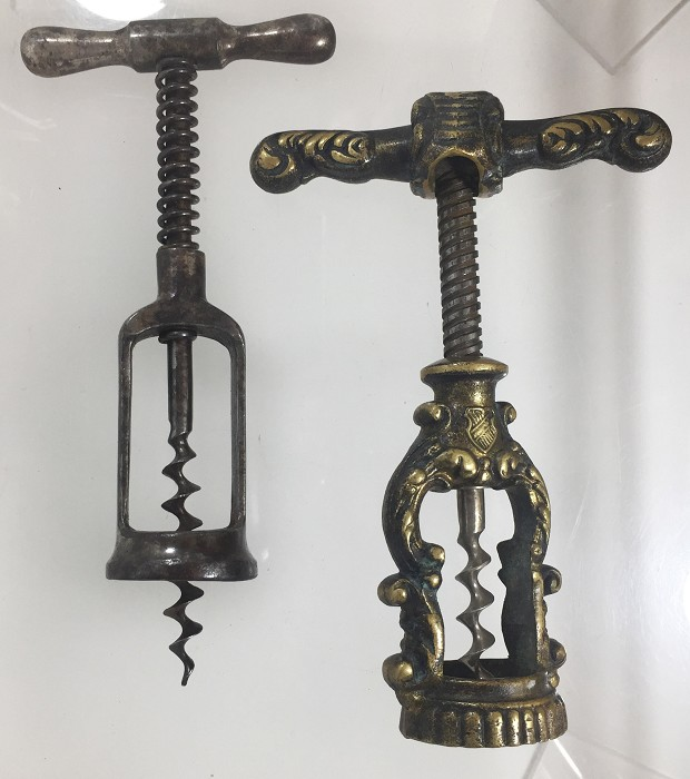 German Hercules type and a fancy brass one made by Monopol