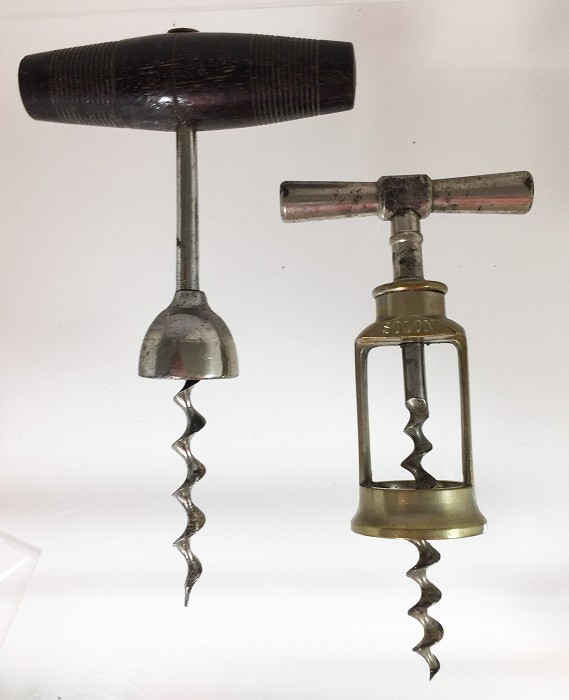 Two German corkscrews SOLON and one with a bell