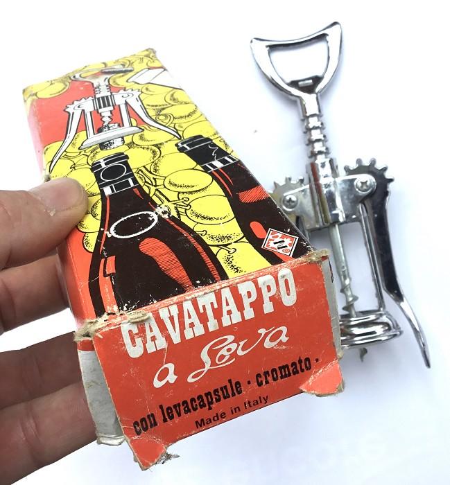 ITALIAN CORKSCREW IN HIS BOX 1970-80