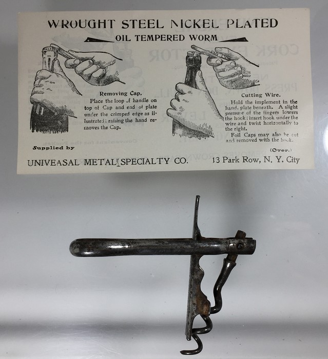 De Noyes US 1906 patent marked + direction of use