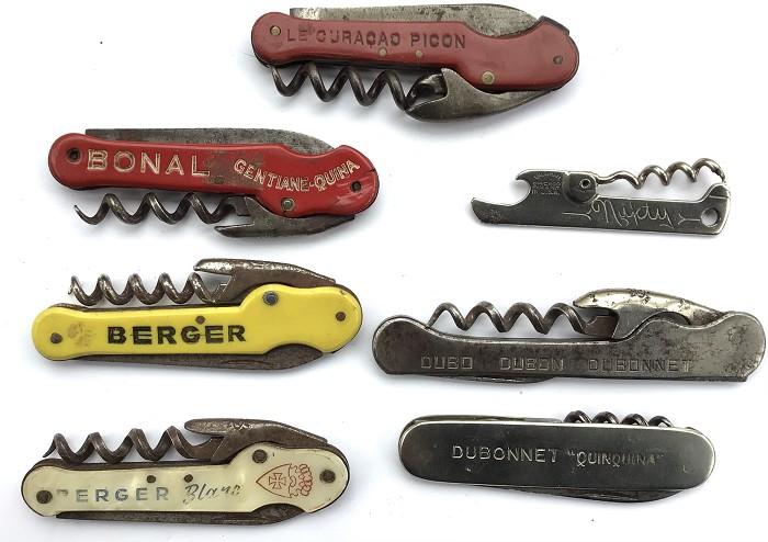 FRENCH CORKSCREW L7 KNIVES PICON BERGER BONAL DUBONNET