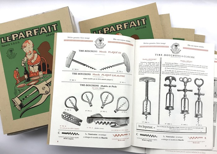 FRENCH CORKSCREW 100 REEDITION CATALOGUES MFAP 1927-1952