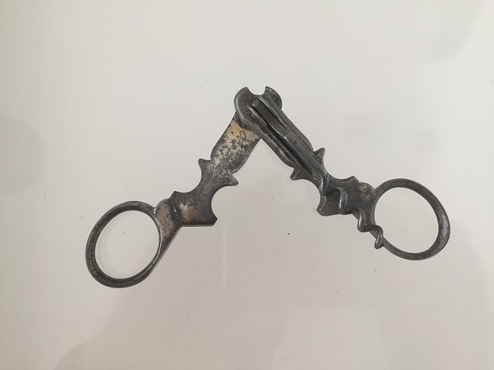 French wire cutter, cigar cutter combination MERCIER & Co