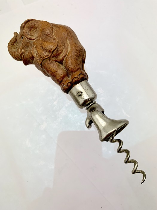Syroco Elephant Head Corkscrew