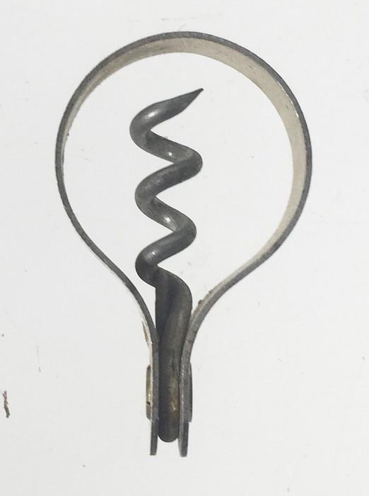Clough miniature corkscrew THE RAWLEIGH